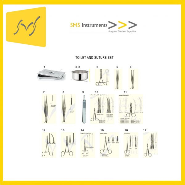 TOILET AND SUTURE SET 1