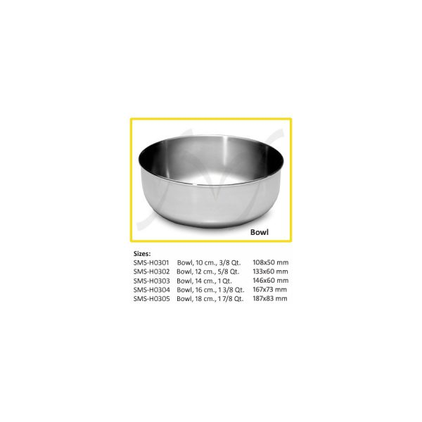 Bowl Stainless Steel 1