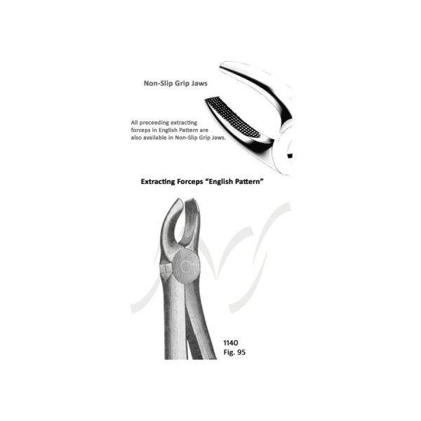 Extracting Forceps Special English Pattern Fig  28 Upper
