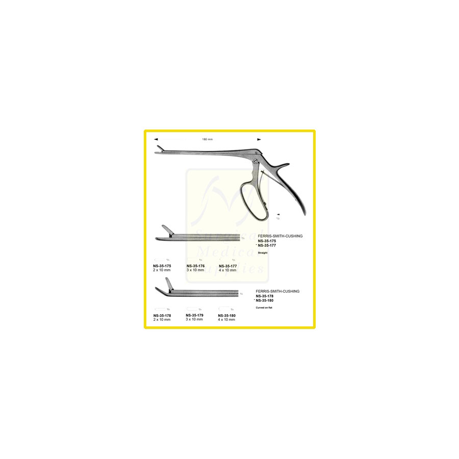 Ferris-Smith-Cushing Rongeurs | Laminectomy, Neurosurgery Instruments