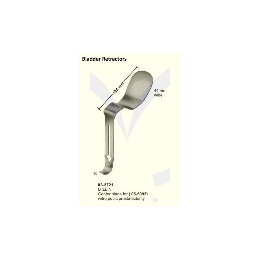 Millin Center Blade For Retro Pubic Prostectomy Sms Instruments