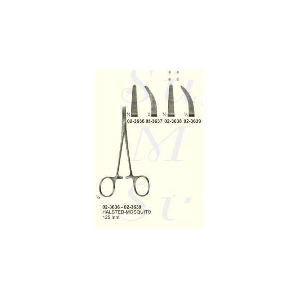 Halsted Mosquito Artery Forceps Fig 1 1