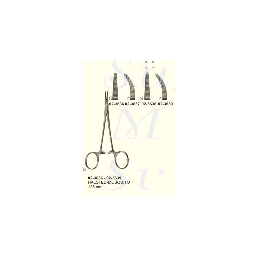 Halsted Mosquito Artery Haemostatic Forceps   SMS Surgical