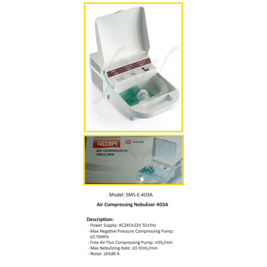 Air Compressing Nebulizer   Medical Equipments   Nazmed SMS