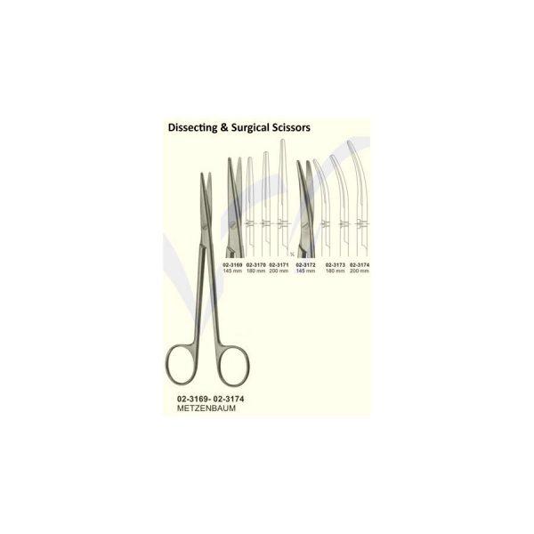 Metzenbaum Dissecting Scissors Fig 2 1