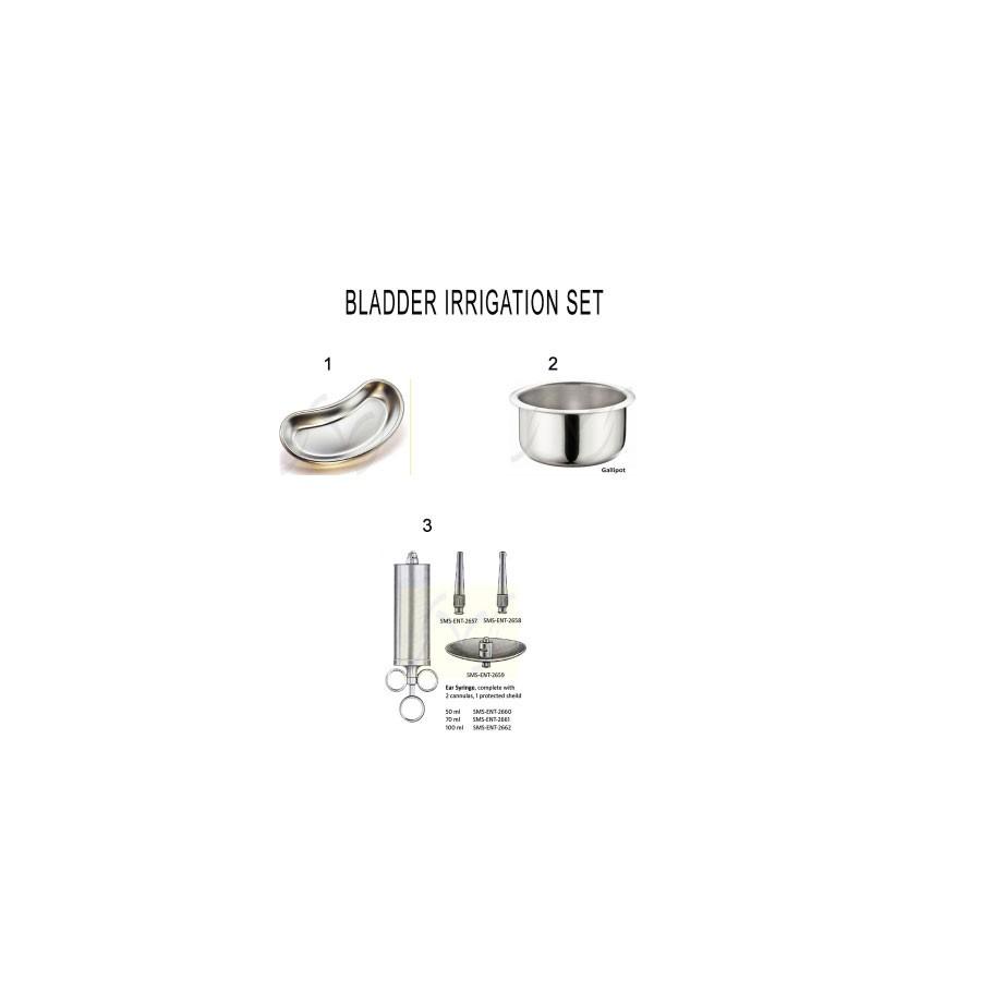 BLADDER IRRIGATION SET   Surgical Instruments Set   Nazmed