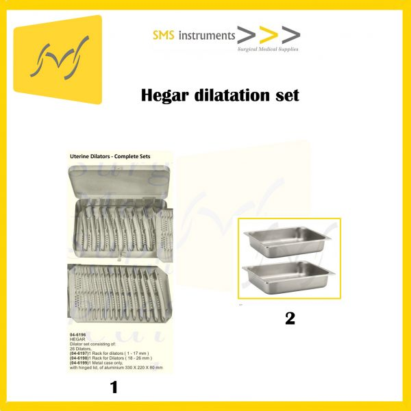 Hegar dilatation set 1