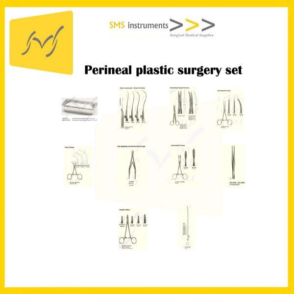 Perineal plastic surgery set 1