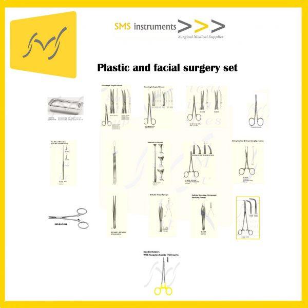 Plastic and facial surgery set 1